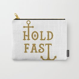 Hold Fast Gold Carry-All Pouch