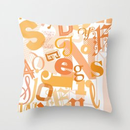 Banner Throw Pillow