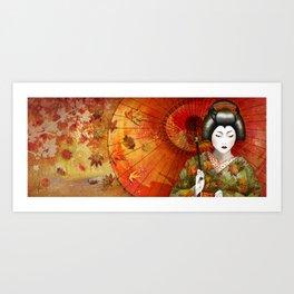 kōyō Art Print