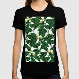 Evergreen floral flower herbal #society6 T-shirt