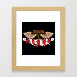 Columbia Songbirds Framed Art Print