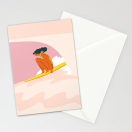 Down the hill Stationery Cards
