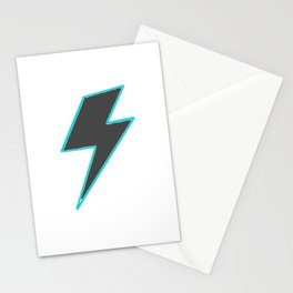 Bolt - Grey Stationery Cards