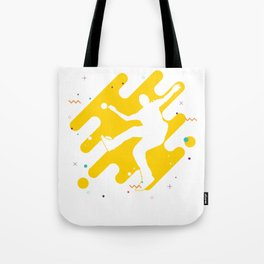 Hacky Sack Ball Gameplay Kicking Bean Bag Gift Footbag Tote Bag