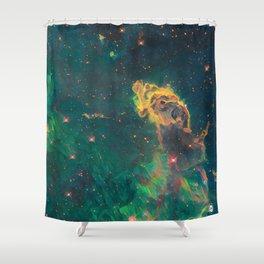 ALTERED Carina Nebula Shower Curtain