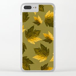 Autumn moods n.8 Clear iPhone Case