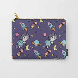 Space Unicorn Pattern NickyToons Carry-All Pouch