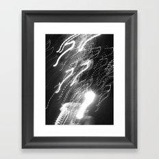 WHITEOUT : Ecstasy Framed Art Print