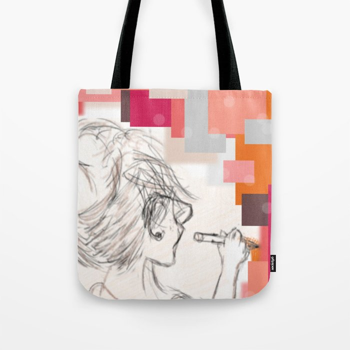 The Art Before the Storm Tote Bag