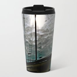 Boat Ship Pirate Fishing Shipyard Ocean Nautical Travel Mug