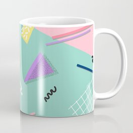 Dreaming 80s Pattern #society6 #decor #buyart Coffee Mug