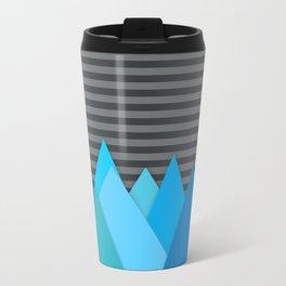 Blue Attack Travel Mug