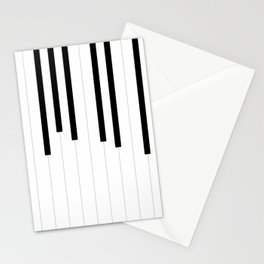 Piano keys, music background #society6 #decor #buyart #artprint Stationery Cards