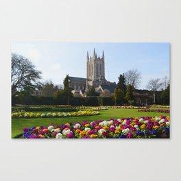 St Edmundsbury Cathedral Canvas Print