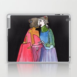 Timeless Lady Love Laptop & iPad Skin