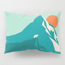 As the sun rises over the peak Pillow Sham