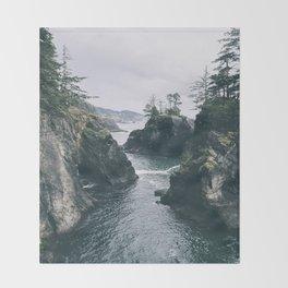 Samuel H. Boardman Throw Blanket