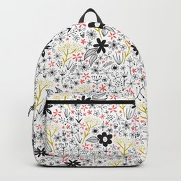 teeny tiny floral pattern Backpack