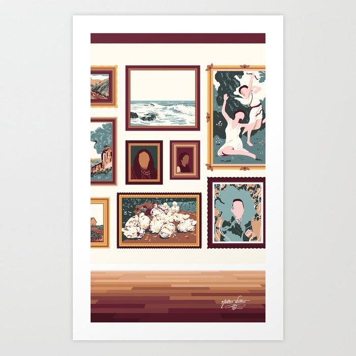 "Sanctuary XXIX - ""Gallery Wall"" Art Print"