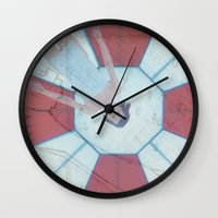 resident evil Wall Clocks featuring Resident Evil - Generations of Alice by Robin Stevens