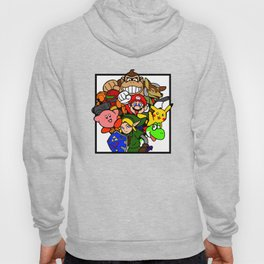 Super Smash 64 Roster Hoody