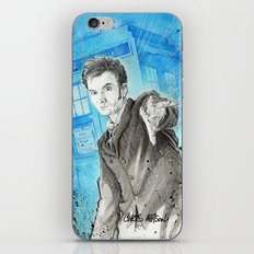 Doctor Who: The 10th Doctor iPhone & iPod Skin