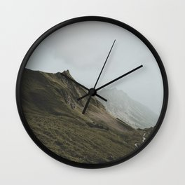not to disappear Wall Clock