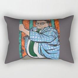 SNL Chris Farley as Matt Foley Rectangular Pillow