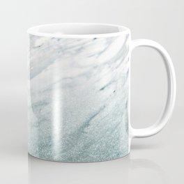Calacatta Verde glitter gradient Coffee Mug