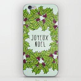 Joyeux Noel iPhone Skin