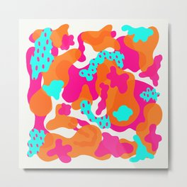 abstract blobs Metal Print