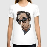 woody T-shirts featuring Woody Allen by Mitt Roshin