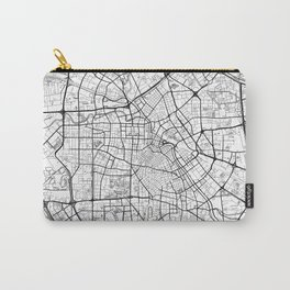 Tianjin Map White Carry-All Pouch