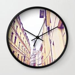 At the end Wall Clock