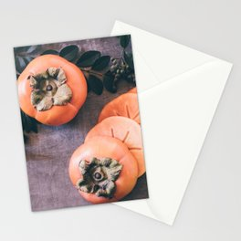 Persimmon 2 Stationery Cards