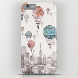 Voyages Over San Francisco iPhone Case
