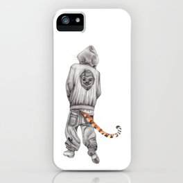 Fierce Attitude iPhone Case