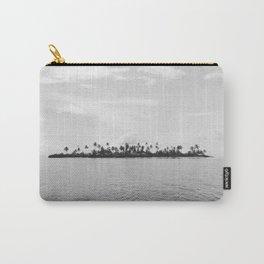 San Blas Islands, Panama - Black & White Carry-All Pouch
