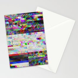Accidentally Glitched Stationery Cards