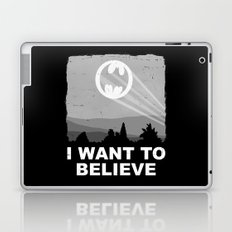 I Want to Believe in a Hero Laptop & iPad Skin