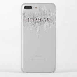 Helvegr Frequency Clear iPhone Case