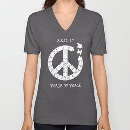 Peace By Peace Unisex V-Neck