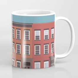 West Village, New York, NYC Travel Poster Coffee Mug