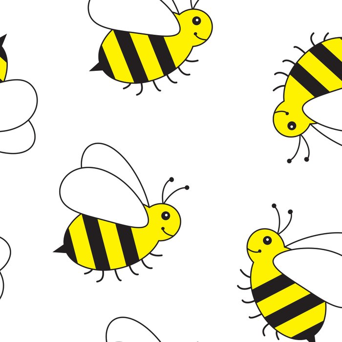 Bumble Bee Pattern Leggings