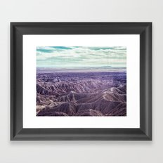 Anza-Borrego Framed Art Print