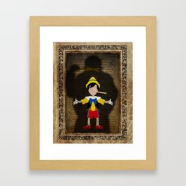 Shadow Collection, Series 2 - Puppet Framed Art Print