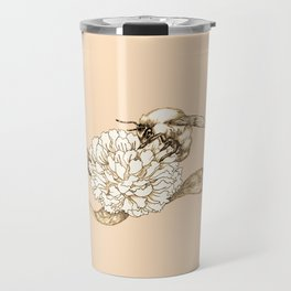 Where did the bees disappear? Travel Mug
