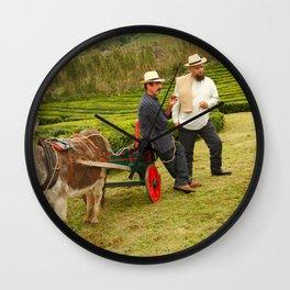 Porto Formoso tea gardens Wall Clock