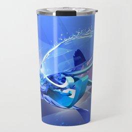 3d graffiti - RL 01 Travel Mug