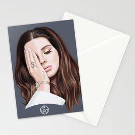 """Trust no One"" LanadelRey Stationery Cards"